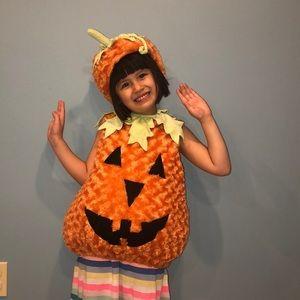 Kid's Pumpkin Costume